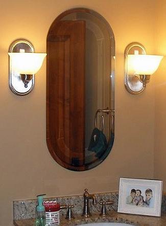 Binswanger Glass Vanity Mirror