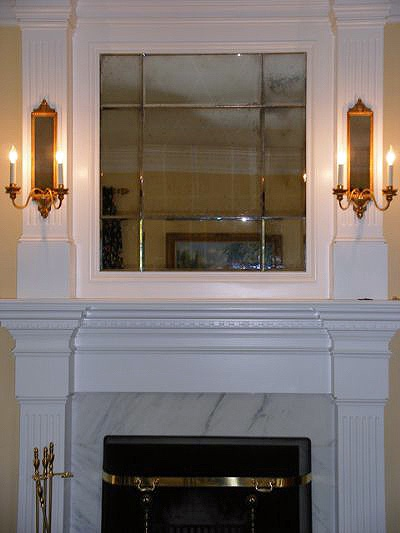 Binswanger Glass Fireplace and Mantel Mirrors (4)