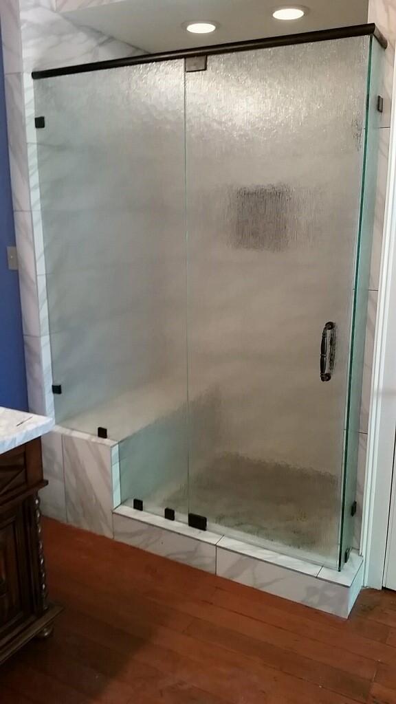 Binswanger Glass Metairie LA Shower Enclosure