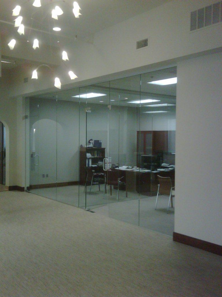 Glass doors offices binswanger glass