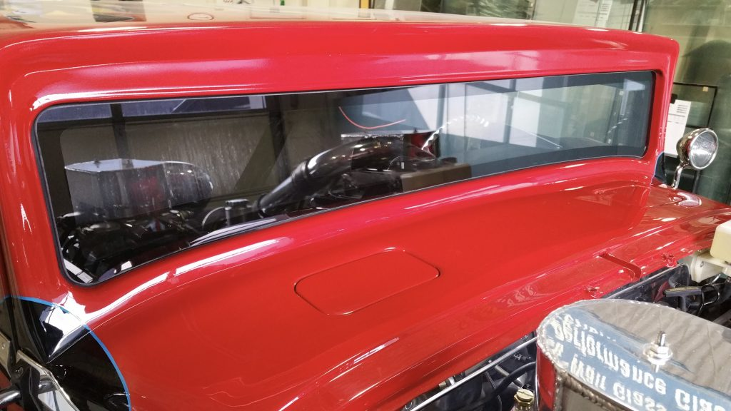 1938 Hudson Hornet Binswanger Glass