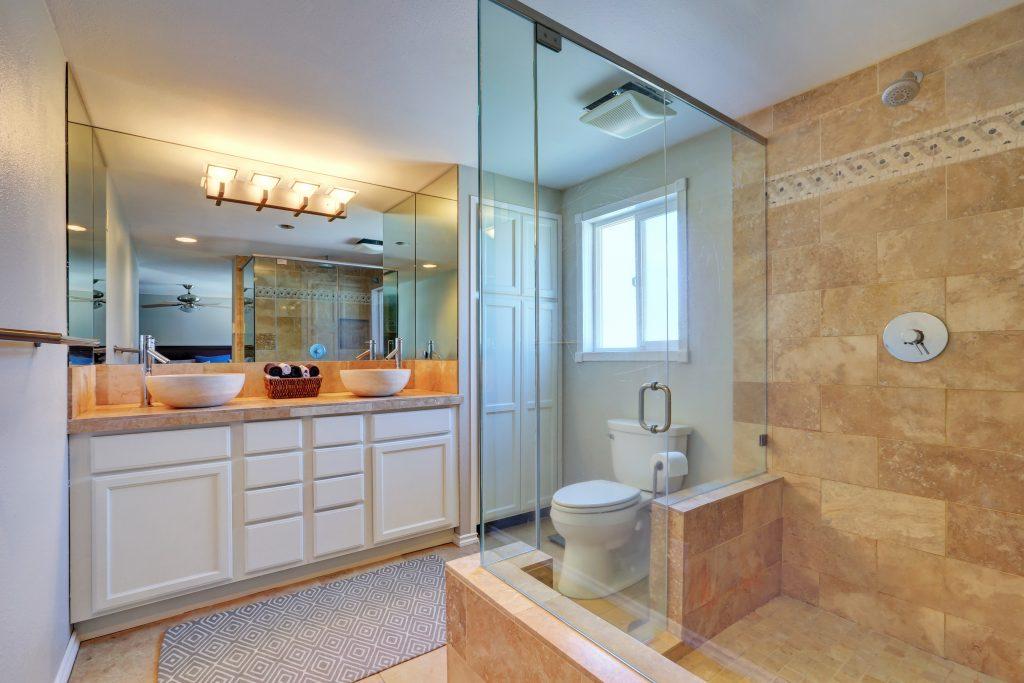 Binswanger Glass - Mirror & Shower Installation