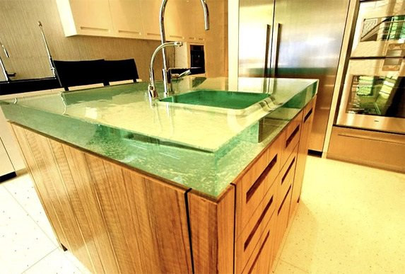 Binswanger Glass Kitchen Countertop