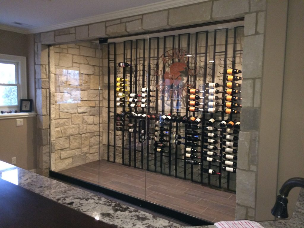 Binswanger Glass Custom Wine Cellar