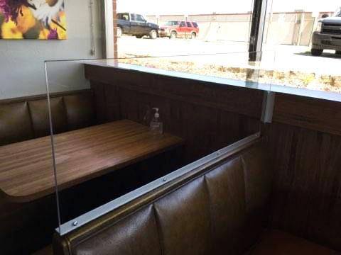 Binswanger Glass Booth Divider Partition