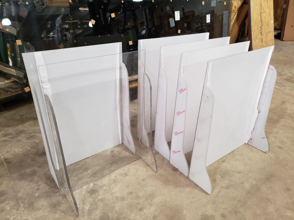 Binswanger Glass - Retail COVID Shields
