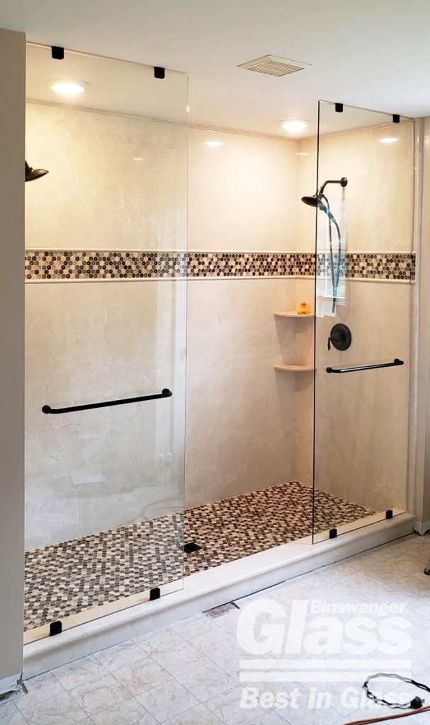 Binswanger Glass - Double Shower