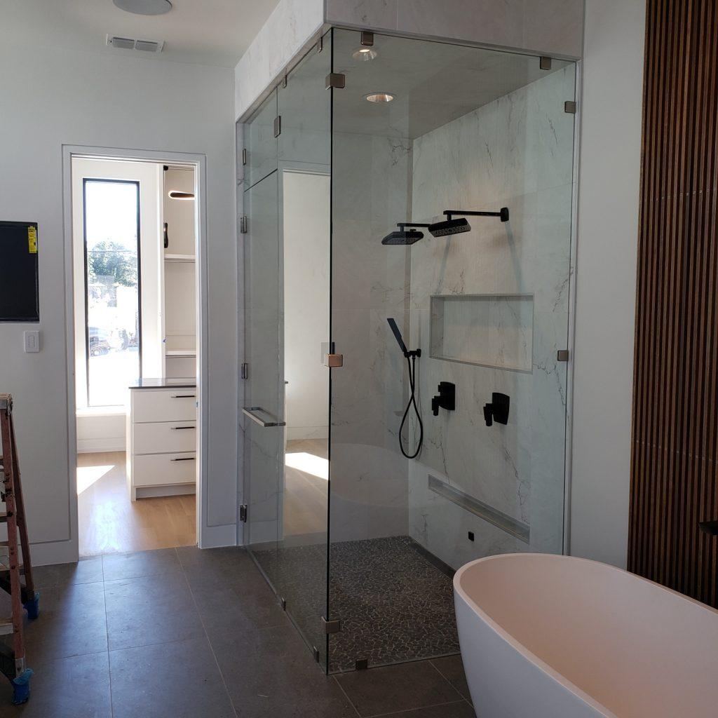 Binswanger Glass - Steam Shower