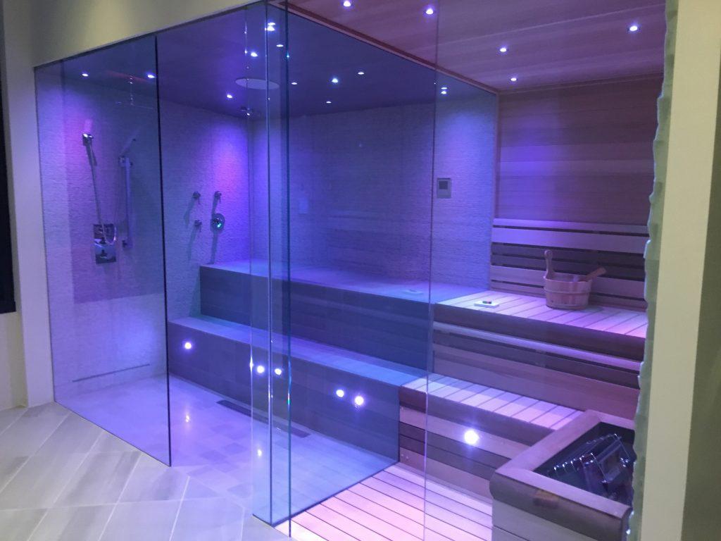 Binswanger Glass - Steam Shower & Room Combo