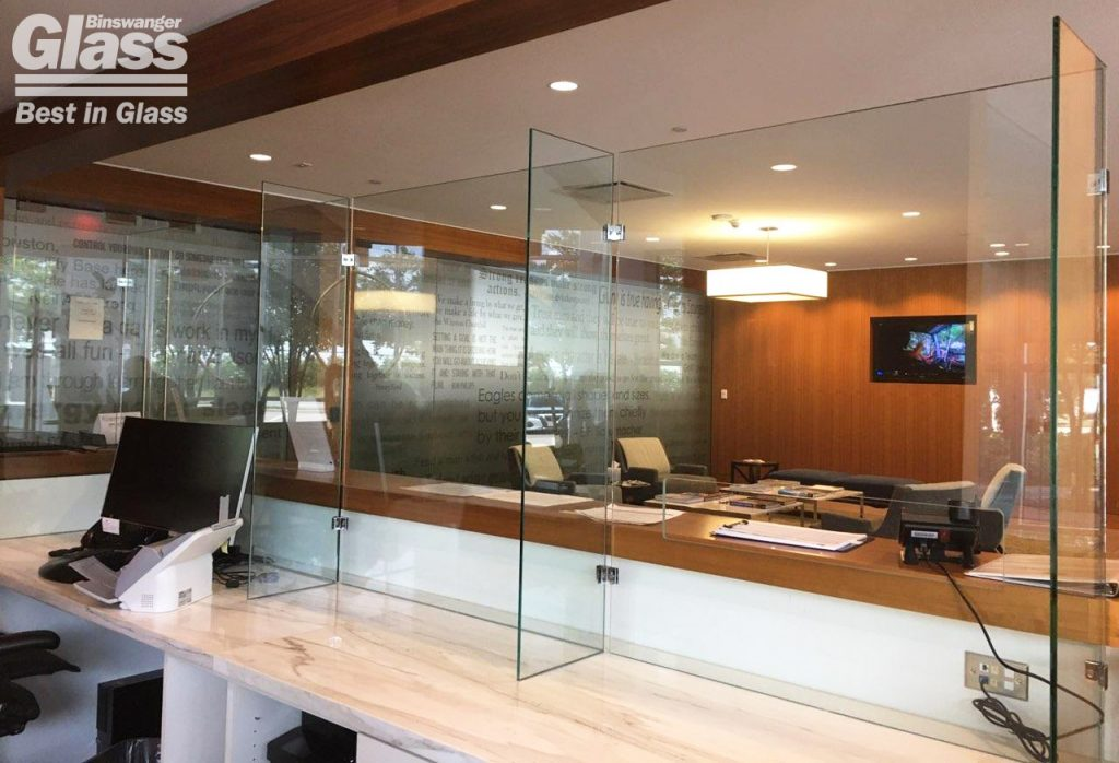 Binswager Glass COVID Partition